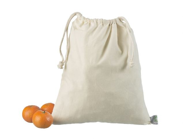 Cotton bag with a rope 25 x 30 cm